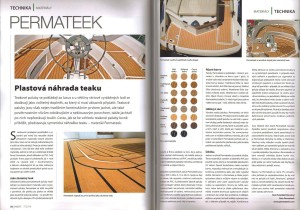 Yacht magazine - Permateek