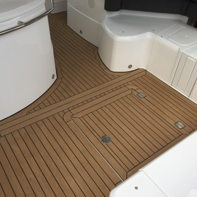 Sunseeker Portafino fitted with Permateek Traditional