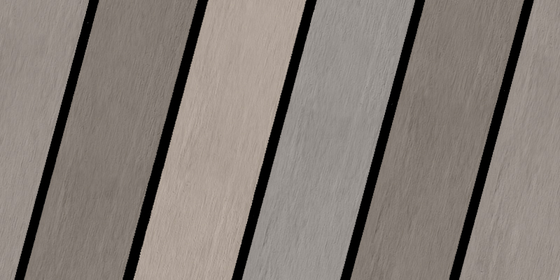Weathered Multi-colour black caulking