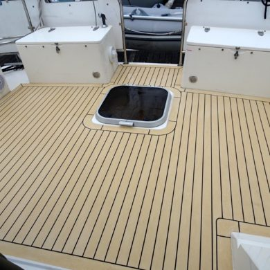 Fairline Turbo 36 Powerboat Synthetic Decking Caribbean