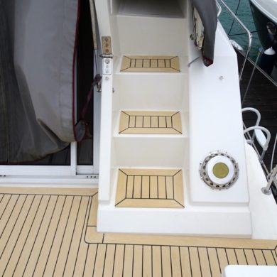 Fairline Turbo 36 Powerboat Synthetic Decking Carribean