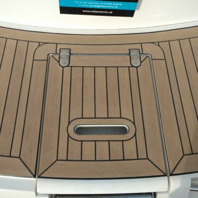 Miss Teek Elite synthetic teak boat floor internal