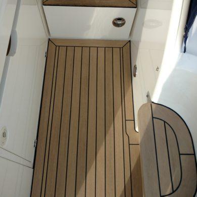 Miss Teek Elite synthetic teak boat floor internal